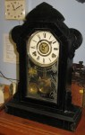 "Gilbert ""Black"" Kitchen Shelf Clock"