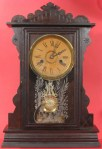Terry Clock Co., One-Day Walnut Shelf Clock