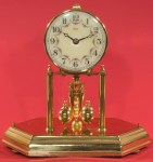 Kundo Miniature 400 Day Clock with Brass and Glass Case