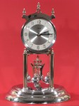 Kundo Nickel Plated 400 Day Clock Made about 1950
