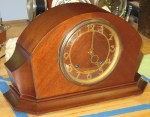 1946 Seth Thomas Mantel Clock in Modern Style Case