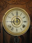 Saving an Original Dial (Ingraham Oak Kitchen Clock)