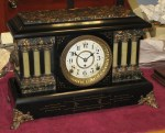Seth Thomas Adamantine Mantel Clock with 89C Movement