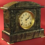 Tortoise Shell Finish Seth Thomas Adamantine Mantel Clock