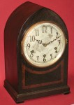 Seth Thomas Beehive Mantel Chime Clock with No. 124 Movement