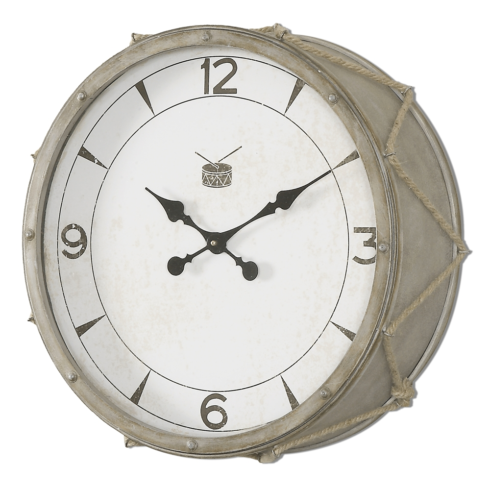 White Rope Snare Home Decor Wall Clock Uttermost Wall Clocks At Amazon Wall Clock Designs furniture Unique Wall Clock