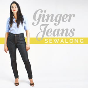Ginger Jeans Sewalong by Closet Case Files