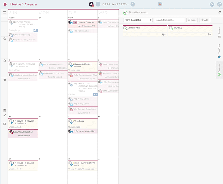 An amazing blogging tool! Using CoSchedule to organize blog editorial ...