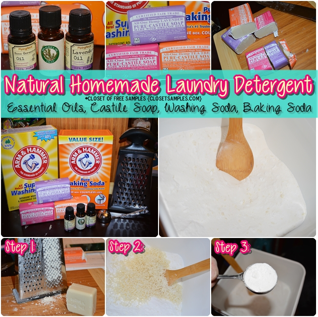 Make Homemade Organic Laundry Detergent that Actually WORKS!