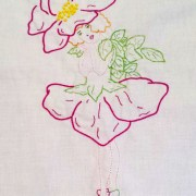 Floral Fairies Embroidery BOM Block 3