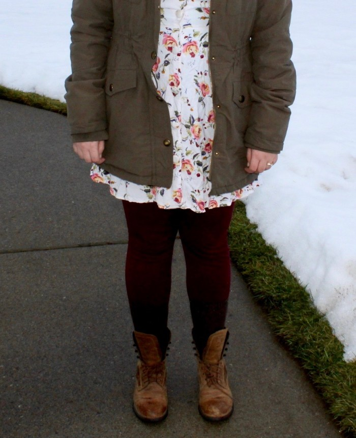 Modest Fashion Inspiration: Florals and Green