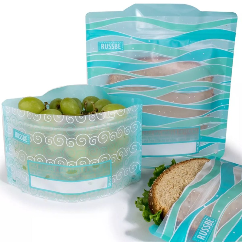 Large Of Reusable Snack Bags