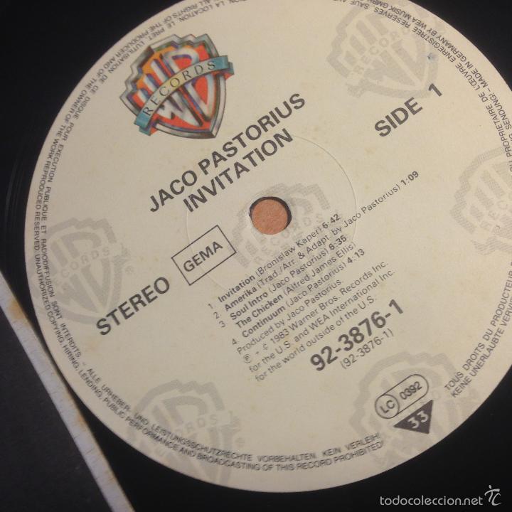 Jaco pastorius invitation cd invitationswedd jaco pastorius invitation lp 1983 92 3876 1 comprar discos stopboris Image collections