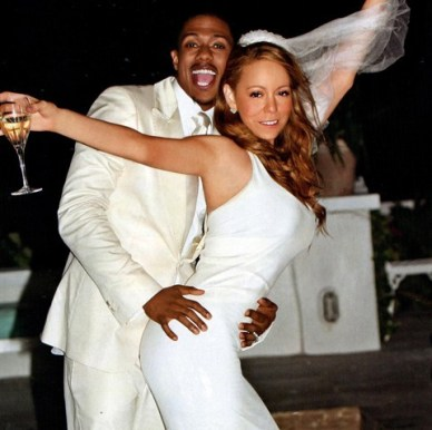 Image result for mariah nick cannon wedding