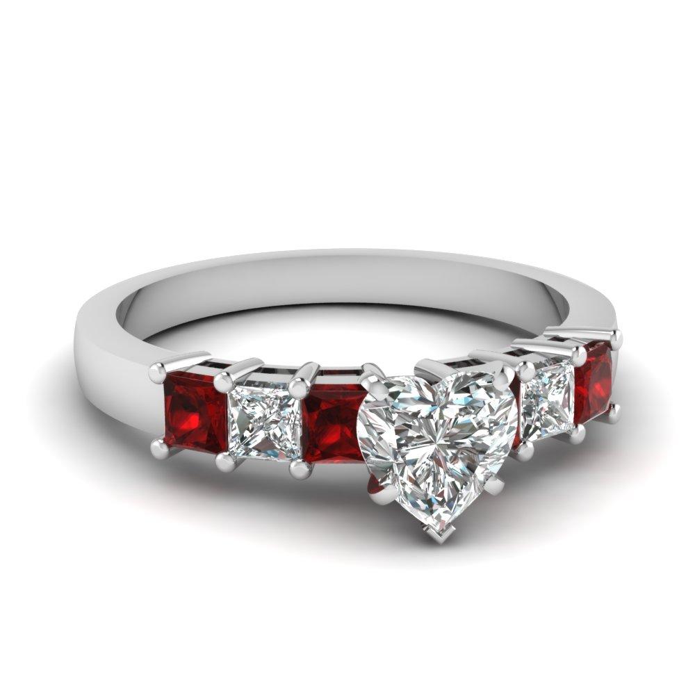 8 amazing ruby engagement rings ruby wedding rings