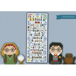 Small Crop Of Harry Potter Cross Stitch