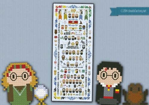 Medium Of Harry Potter Cross Stitch