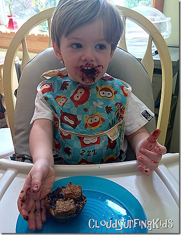 ToddlerChocolateMess