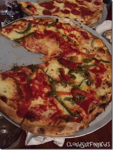 Great pizza NYC John's Pizzeria
