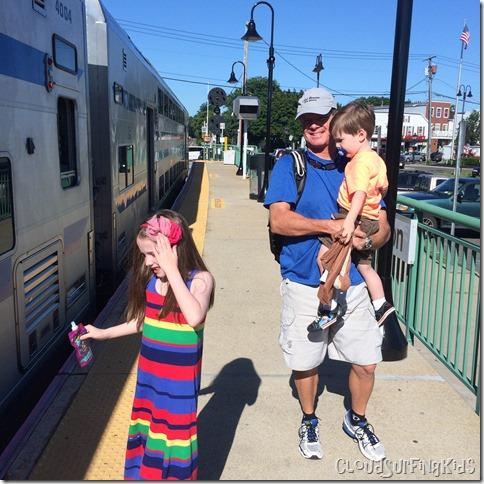 LIRR with kids
