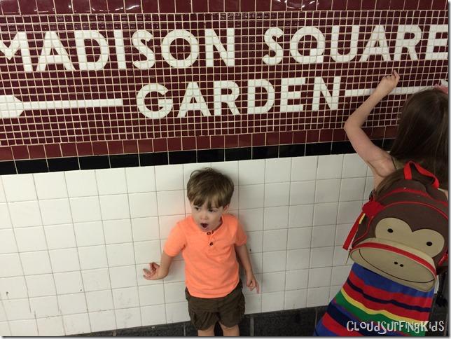 Madison Square Garden Subway