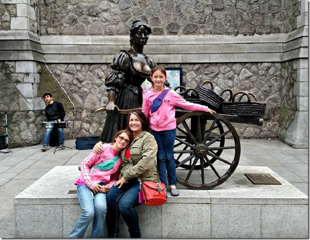 When in Dublin... with Molly Malone