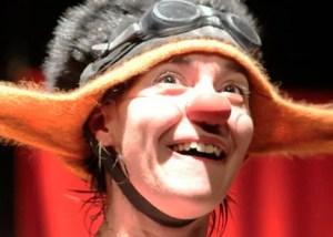 Lila Monti, payasa, clown. Argentina