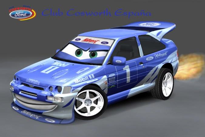 Fonde pantalla Club Cosworth España