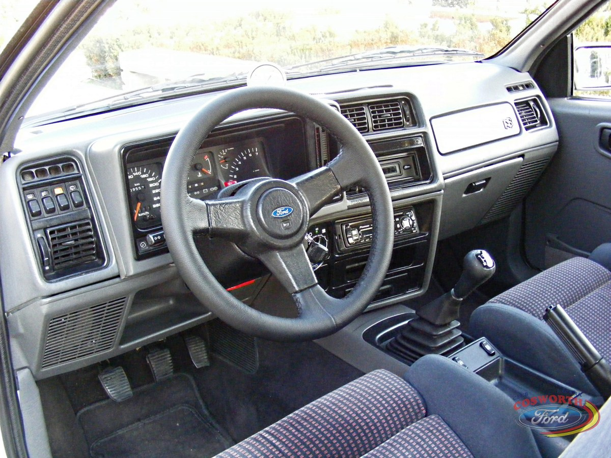 Interior Ford Sierra RS Cosworth