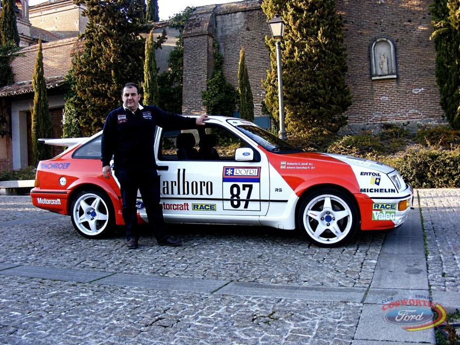 Ford Sierra Cosworth de Roberto Fríos