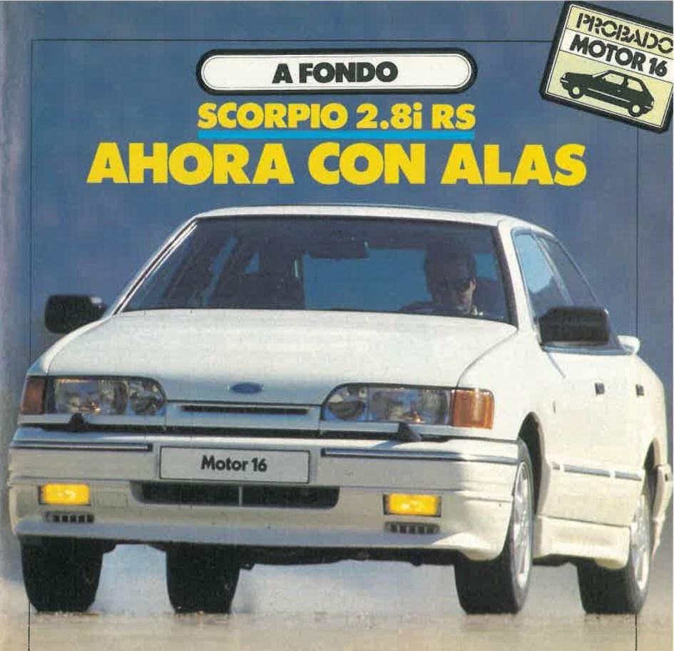 Ford Scorpio 2.8 RS prueba