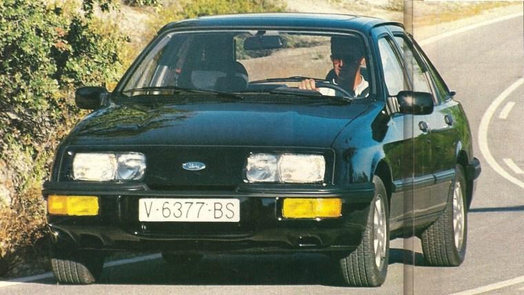 Prueba Ford Sierra XR4x4