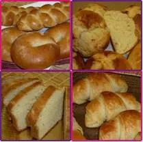 Foto de los panes del curso del Club de Reposteria