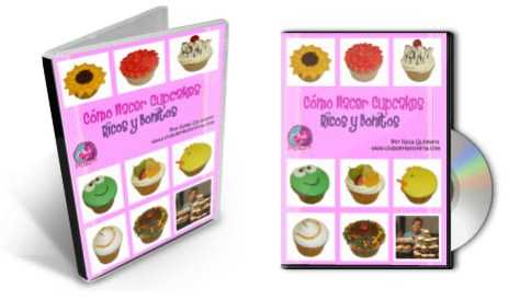 "DVD Curso ""Como Hacer Cupcakes"" - Club de Reposteria"