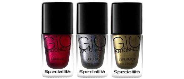 3 cores Giovanna Antonelli esmaltes