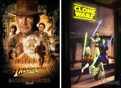 IMAGE: New Indy IV and TCW posters