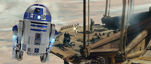 Where in Trek is Artoo Sandiego?