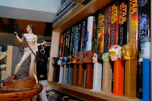 Star Wars loft [Detail] by eyeSPIVE @ Flickr. Used with permission.