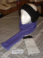 Mara Jade lightsaber scarf by sorakirei @ Flickr