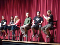 USO The Clone Wars cast on stage
