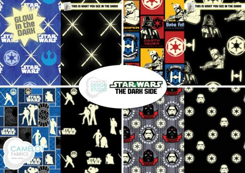 Star Wars glow-in-the-dark from Camelot Fabrics
