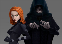 ENGELHA5T's Mara Jade and Palpatine (crop)