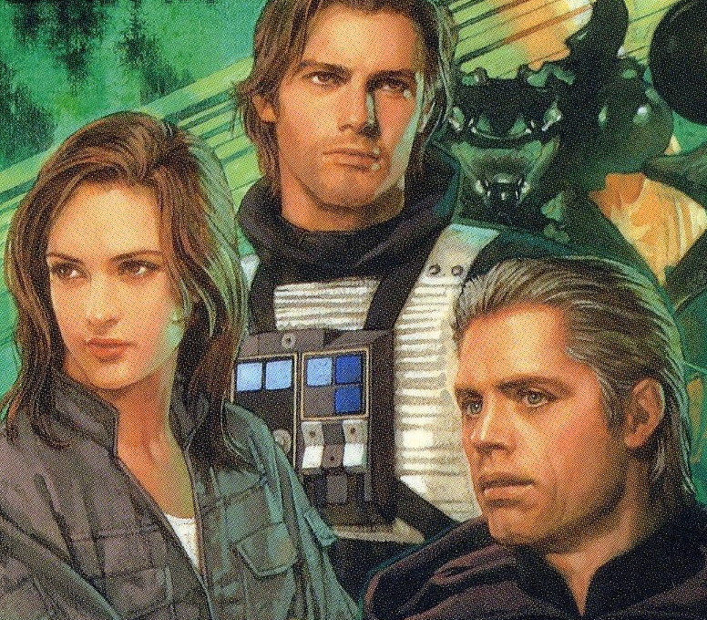 Jaina, Jacen, and Luke