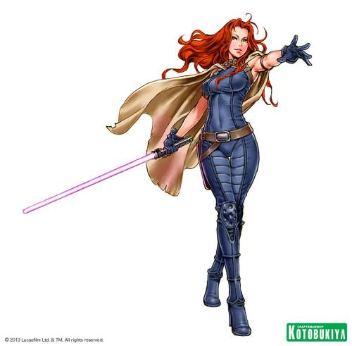Sketch for Kotobukiya's Mara Jade statue