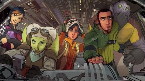 Rebels cast (concept art)