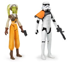 Hasbro Rebels: Hera + sandtrooper