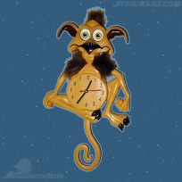 Salacious Crumb clock (Celebration Anaheim)