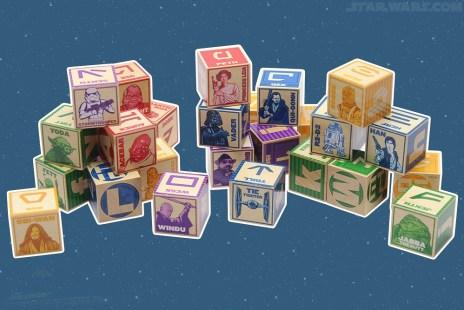 Aurebesh/Basic block set (Celebration Anaheim store)