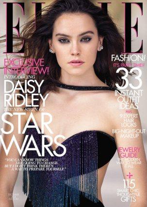 Daisy Ridley in Elle (Dec '15)