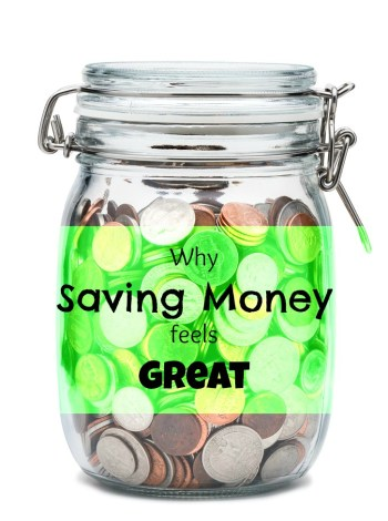 Don't be a saver hater! Saving money feels as good as spending does! In fact, it feels better. Don't believe me? Let me tell you why saving money rocks!